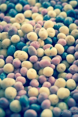 Colors of potatoes
