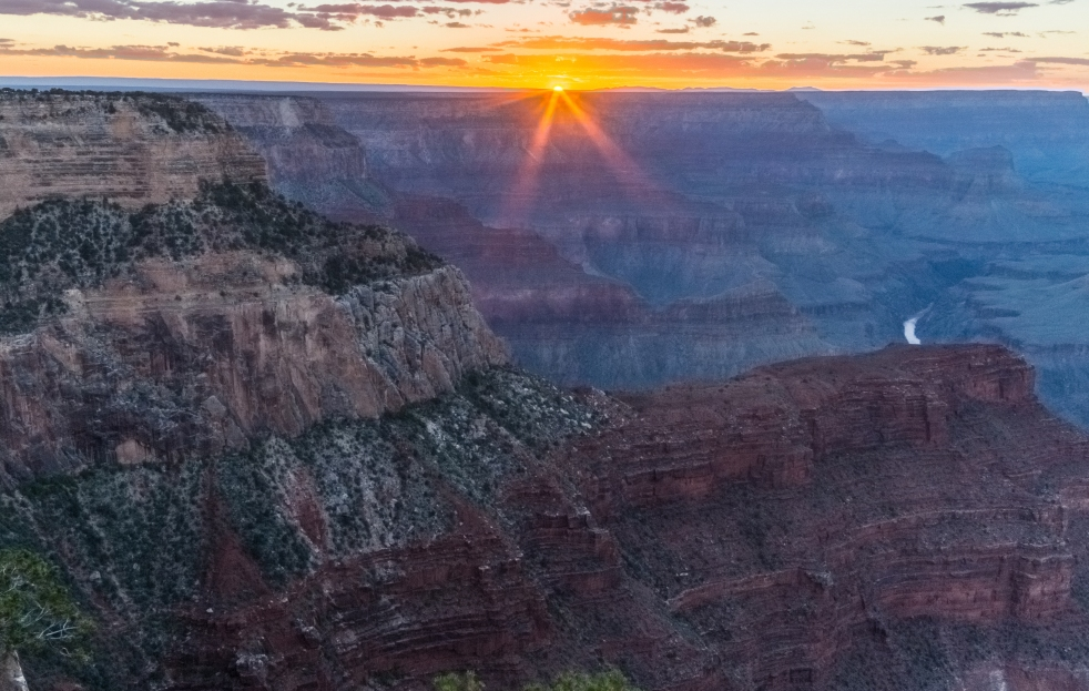 Sunset at the Hopi Point, Grand Canyon