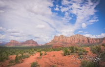 View of Sedona, AZ from the foot of the Bell Rock