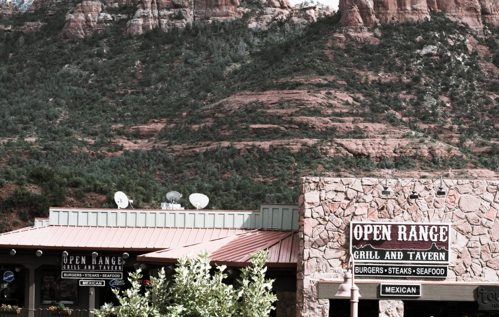 A view of N State Rte 89A in Sedona, AZ