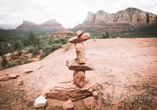 Bell Rock trail marker
