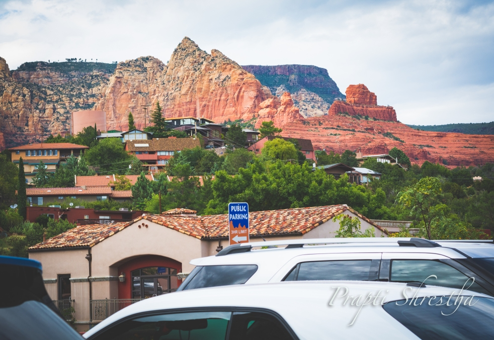 Sedona is nestled in the among the cozy red rocks