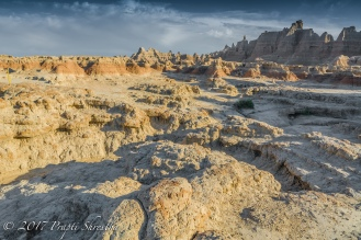 The mountains of the Badlands